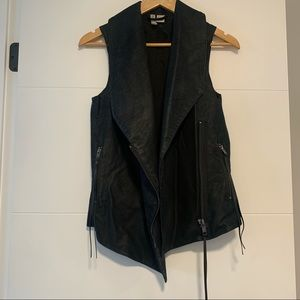 H & M | Faux Leather Vest